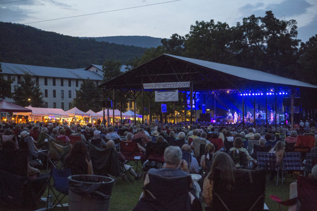 Escape to the mountains for a weekend of great music under the stars!