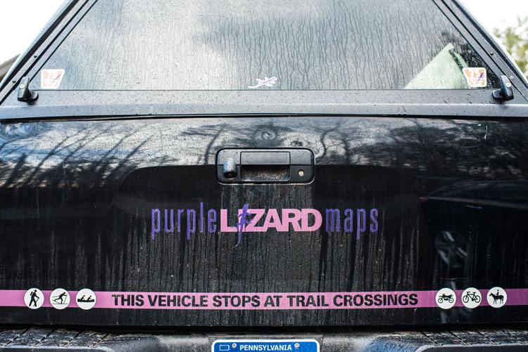 Why We Still Need Maps: Purple Lizard Charts Recreation in the Mid-Atlantic
