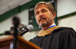 Blue Ridge Outdoors President Blake DeMaso Delivers Commencement Address at Lees-McRae College