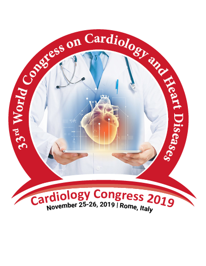 33rd World Congress on  Cardiology & Heart Diseases | Cardiology Conferences | Cardiology Congress | Heart Diseases Conferences | Europe | USA | Asia Pacific | Middle East | 2019