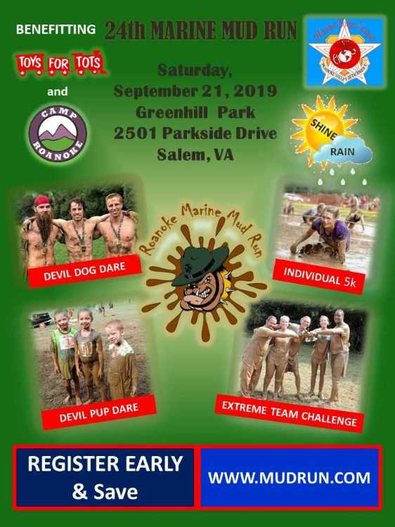 24th Marine Mud Run / Devil Dog Dare