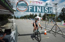 Nearly 800 Cyclists Tackled The 44th Annual Assaults on Mt. Mitchell & Marion