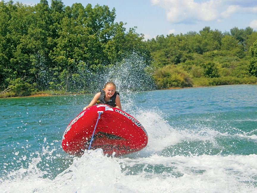 Summer Fun in the Waters of Bath County, Virginia