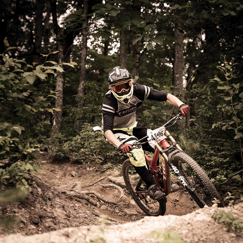 Bryce Bike Park's summer race series welcomes riders of all ages and skill levels the second Saturday of each month throughout the season. / photo by Andrew DeVier-Scott