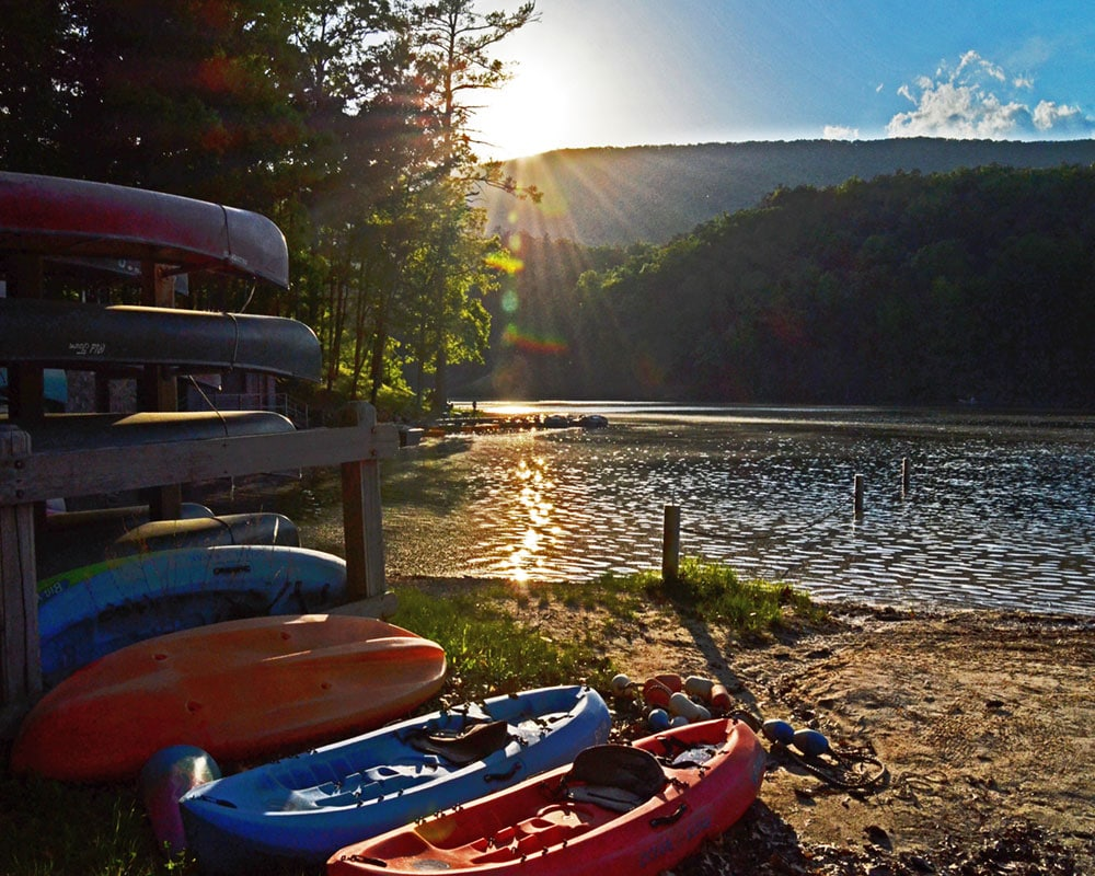 Boat rentals at Douthat State Park (Virginia State Parks)
