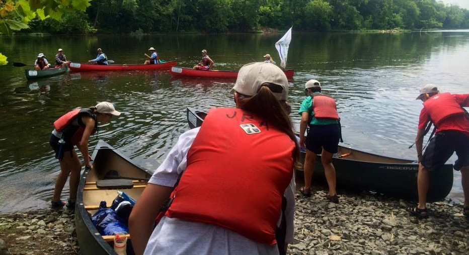 Canoe Expedition along the James River