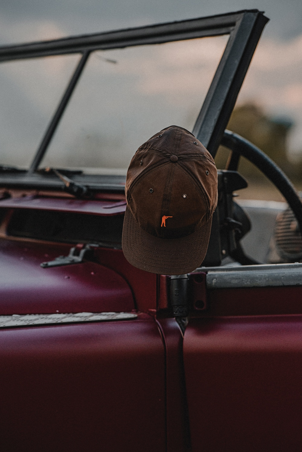 Ball and Buck Premium Waxed Cotton Hat