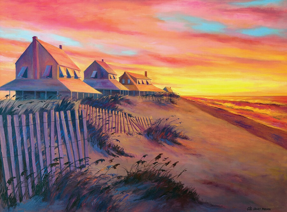 James Melvin Outer Banks Painting