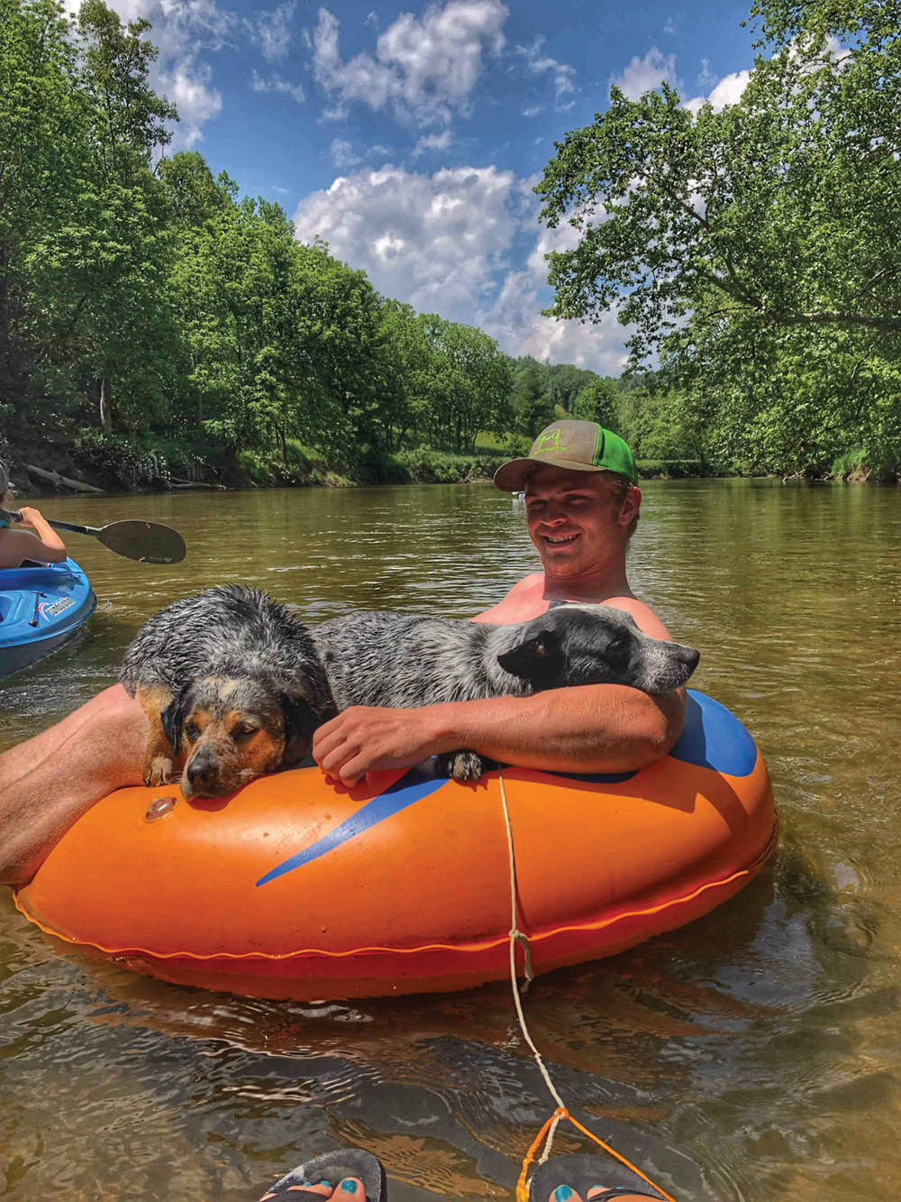 floating the new river