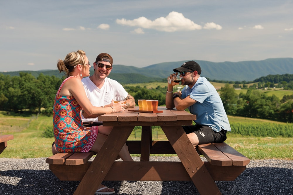 road trips along the shenandoah beerwerks trail