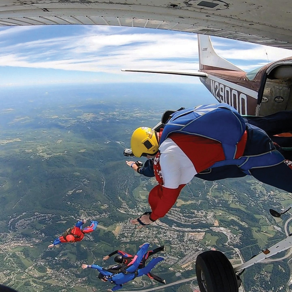 skydiving mountaineer country