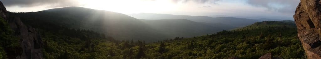 Spectacular Views in Grayson Highlands