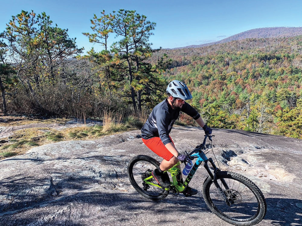 DuPont State Recreational Forest singletrack