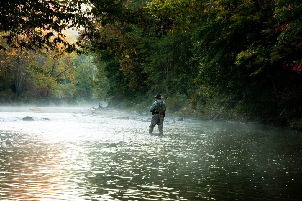 Chattooga River fly Fishing
