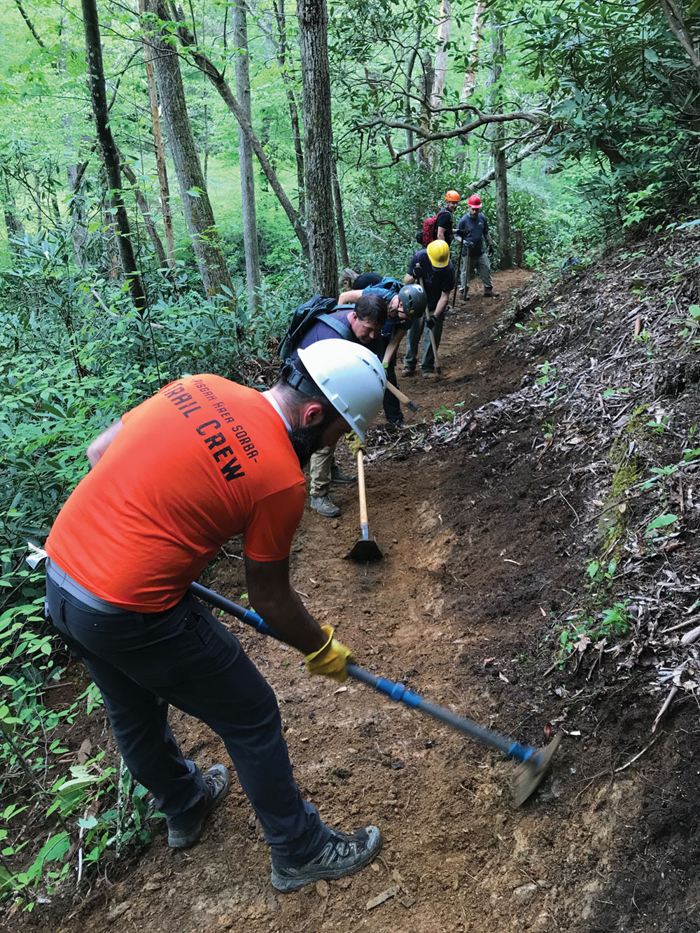 g5 collective trail maintenance old fort